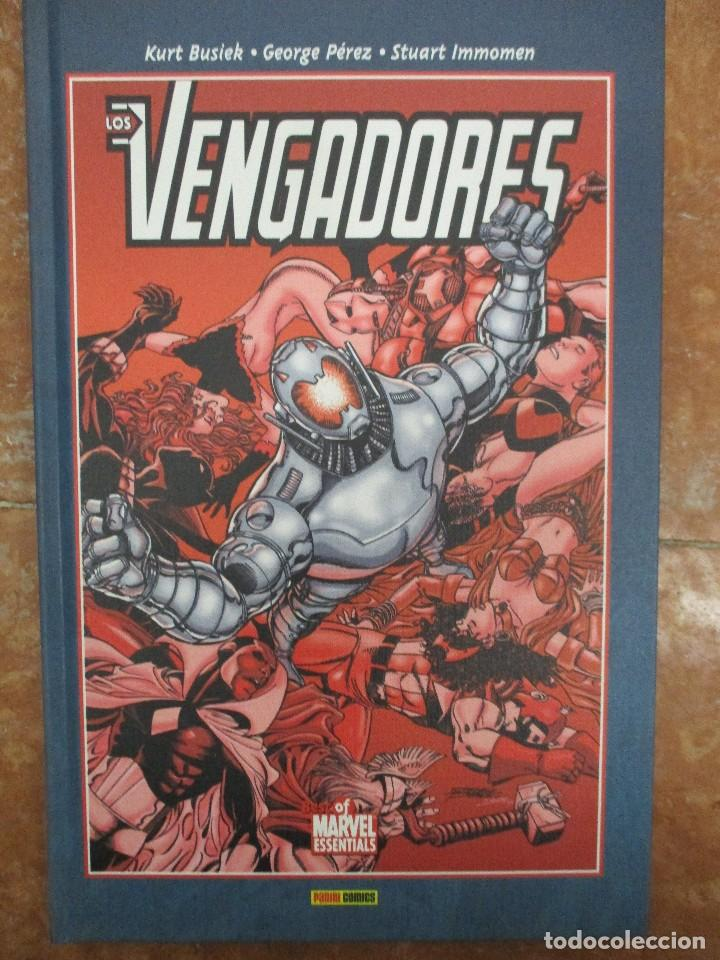 BEST OF MARVEL ESSENTIALS LOS VENGADORES COLECCION COMPLETA 4 TOMOS NUEVOS DE LIBRERIA (Tebeos y Comics - Panini - Marvel Comic)