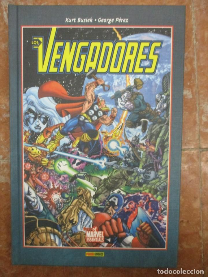 Cómics: BEST OF MARVEL ESSENTIALS LOS VENGADORES COLECCION COMPLETA 4 TOMOS NUEVOS DE LIBRERIA - Foto 2 - 107663895