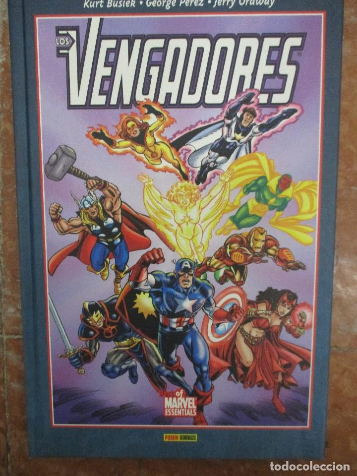 Cómics: BEST OF MARVEL ESSENTIALS LOS VENGADORES COLECCION COMPLETA 4 TOMOS NUEVOS DE LIBRERIA - Foto 4 - 107663895