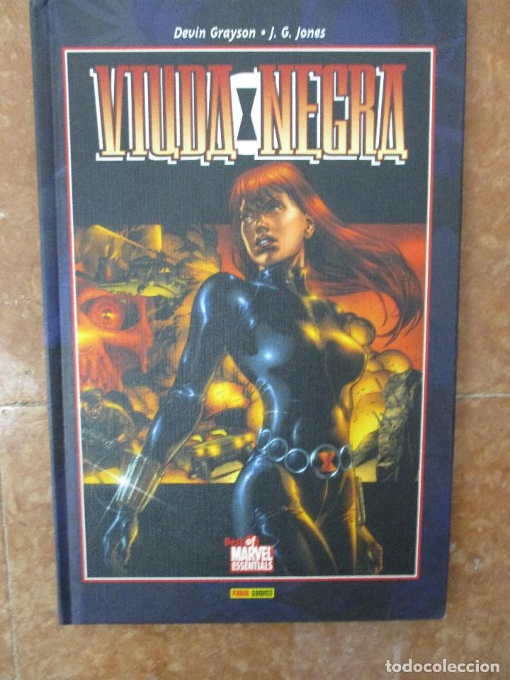 BEST OF MARVEL ESSENTIALS LA VIUDA NEGRA PANINI NUEVO DE LIBRERIA (Tebeos y Comics - Panini - Marvel Comic)