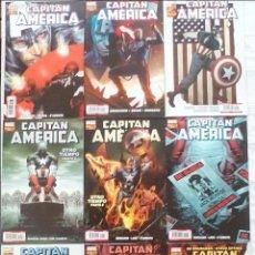 Cómics: LOTE 9 COMICS CÁPITAN AMÉRICA PANINI ED BRUBAKER VOL.7 Nº 1 AL 5, 7, 38 Y VOL.8 Nº 10 Y 12. Lote 108034095