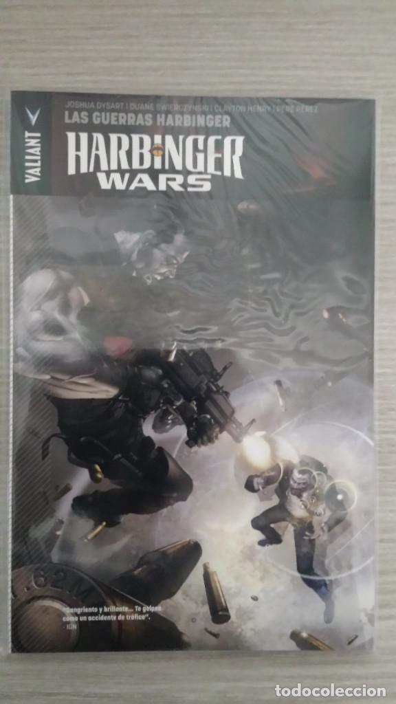 HARBINGER WARS UNIVERSO VALIANT TOMO ÚNICO RÚSTICA (PANINI) (Tebeos y Comics - Panini - Otros)