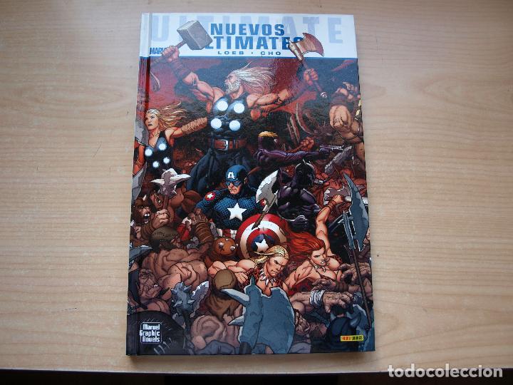MARVEL GRAPHIC NOVELS - NUEVOS ULTIMATES - AÑO 2011 - TAPA DURA - PANINI (Tebeos y Comics - Panini - Marvel Comic)