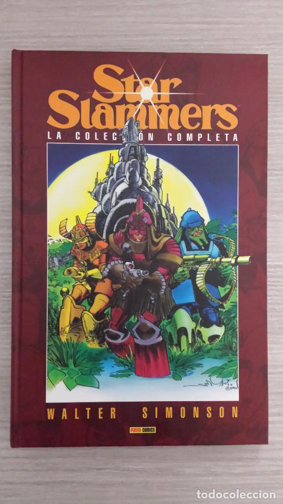 STAR SLAMMERS DE WALTER SIMONSON TOMO ÚNICO CARTONE (PANINI) (Tebeos y Comics - Panini - Otros)