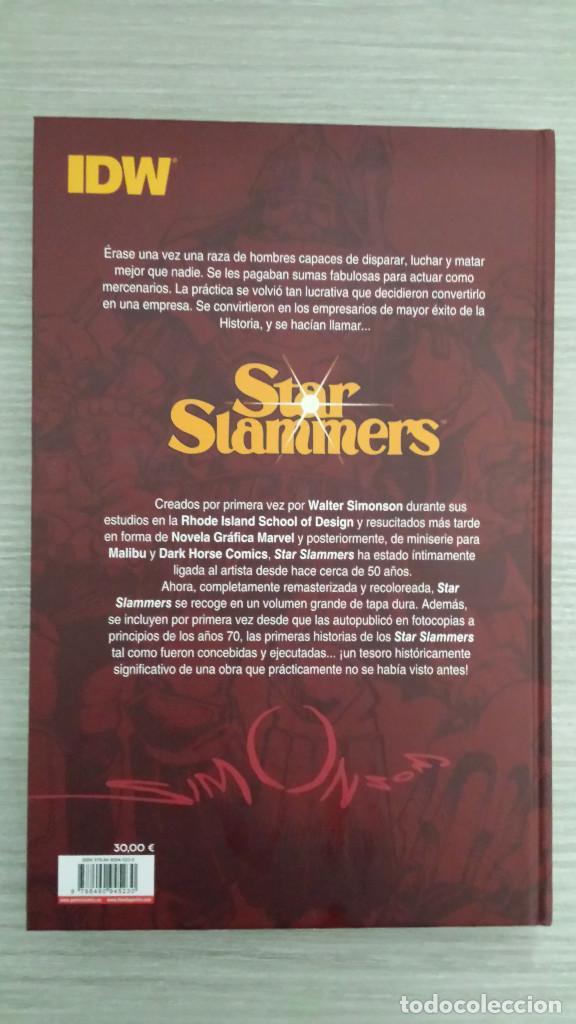 Cómics: STAR SLAMMERS DE WALTER SIMONSON TOMO ÚNICO CARTONE (PANINI) - Foto 2 - 108787243