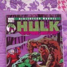 Cómics: BIBLIOTECA MARVEL HULK 24 CON EL HOMBRE COSA. Lote 108818855