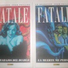 Cómics: FATALE TOMOS 1- 2 . NUEVOS. Lote 109122547