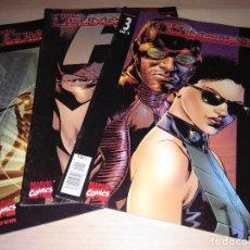 Cómics: COMICS THE ULTIMATES 1 VOLUMEN 1 - COLECCIÓN COMPLETA 3 NÚMEROS. Lote 109510999