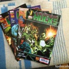 Cómics: LOS INCREÍBLES HULKS NºS 1 2 3 Y 4. Lote 109719991