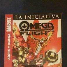 Cómics: OMEGA FLIGHT: LA INICIATIVA - TOMO - PANINI - DESCUENTO 20%¡¡¡. Lote 109749675