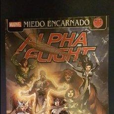 Cómics: ALPHA FLIGHT: EL ORGULLO DE LA NACIÓN (MIEDO ENCARNADO) - TOMO - PANINI. Lote 109750835