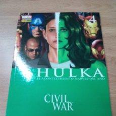 Cómics: HULKA Nº 04: LA GRAN REVELACIÓN. (CIVIL WAR). Lote 109872863
