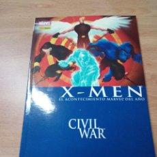 Cómics: X-MEN CIVIL WAR. MARVEL. PANINI COMICS.. Lote 109873219