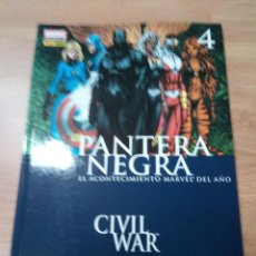 Cómics: CIVIL WAR PANTERA NEGRA 4. Lote 109875735