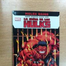 Cómics: HULKS ROJOS LA CAIDA DE LOS HULKS. Lote 109996759