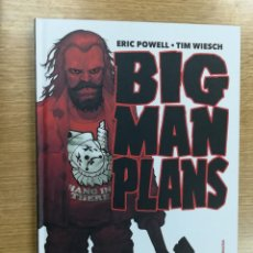 Cómics: BIG MAN PLANS. Lote 109996839