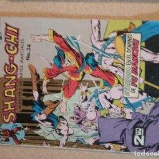Cómics: COMIC MACC DIVISIÓN HISTORIETAS SHANG-CHI NÚMERO 34 MÁS REGALO OTRO. Lote 110298163