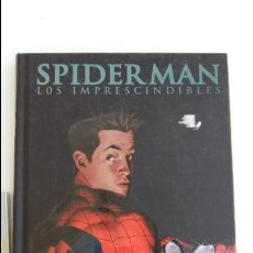 Cómics: SPIDERMAN LOS IMPRESCINDIBLES. LIBRO Y CARTILLA. W. Lote 110436327