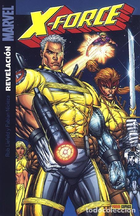 X-FORCE: REVELACIÓN (Tebeos y Comics - Panini - Marvel Comic)