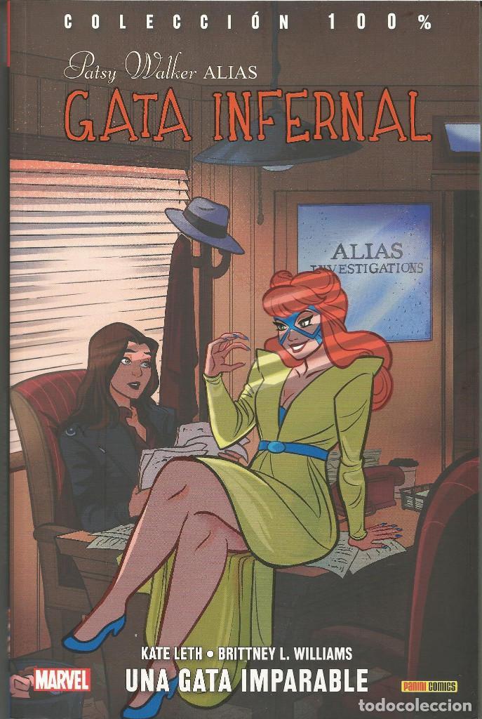 PATSY WALKER, ALIAS GATA INFERNAL 02: UNA GATA IMPARABLE PANINI CÓMICS (Tebeos y Comics - Panini - Marvel Comic)