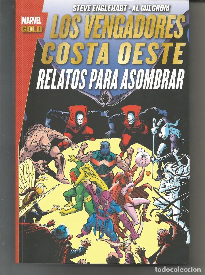 LOS VENGADORES. COSTA OESTE: RELATOS PARA ASOMBRAR MARVEL GOLD PANINI CÓMICS (Tebeos y Comics - Panini - Marvel Comic)