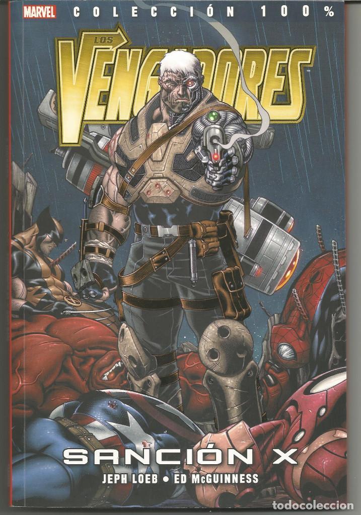 LOS VENGADORES. SANCIÓN X. 100% MARVEL PANINI CÓMICS (Tebeos y Comics - Panini - Otros)
