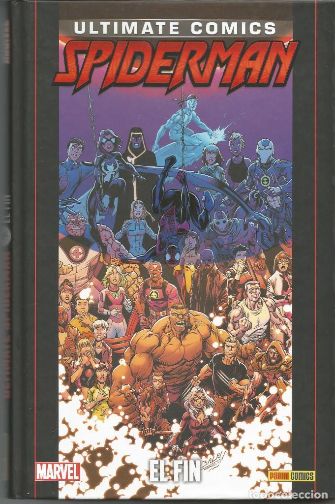 COLECCIONABLE ULTIMATE SPIDERMAN 39 EL FIN PANINI CÓMICS (Tebeos y Comics - Panini - Otros)