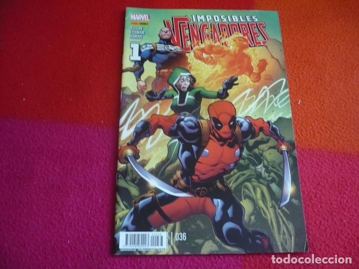 IMPOSIBLES VENGADORES 36 ( DUGGAN STEGMAN ) ¡MUY BUEN ESTADO! PANINI MARVEL 1 (Tebeos y Comics - Panini - Marvel Comic)