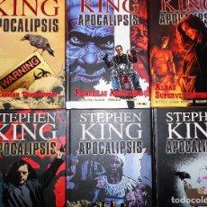 Cómics: STEPHEN KING. APOCALIPSIS. COMPLETA. TAPA DURA. MUY BUEN ESTADO.. Lote 111965215