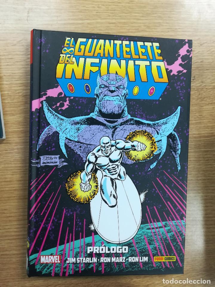 EL GUANTELETE DEL INFINITO PROLOGO (COLECCION JIM STARLIN #2) (Tebeos y Comics - Panini - Marvel Comic)