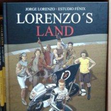 Cómics: LORENZO´S LAND. JORGE LORENZO & ESTUDIO FENIX. Lote 130552847