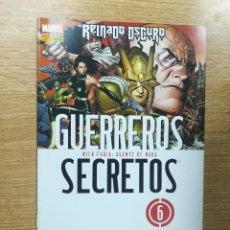 Cómics: GUERREROS SECRETOS #6. Lote 112497251
