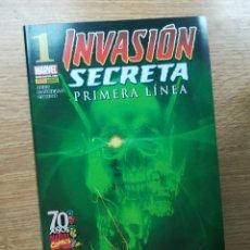 Cómics: INVASION SECRETA PRIMERA LINEA #1. Lote 112497668