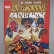 Cómics: LOS VENGADORES ASALTO A LA MANSION MARVEL GOLD. Lote 112517791