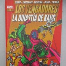 Cómics: LOS VENGADORES LA DINASTIA DE KANG MARVEL GOLD. Lote 112517947