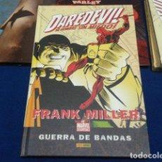 Cómics: COMICS PANINI MARVEL ESSENTIALS( DAREDEVIL: GUERRA DE BANDAS) FRANK MILLER TAPA DURA NUEVO 2008. Lote 112667931
