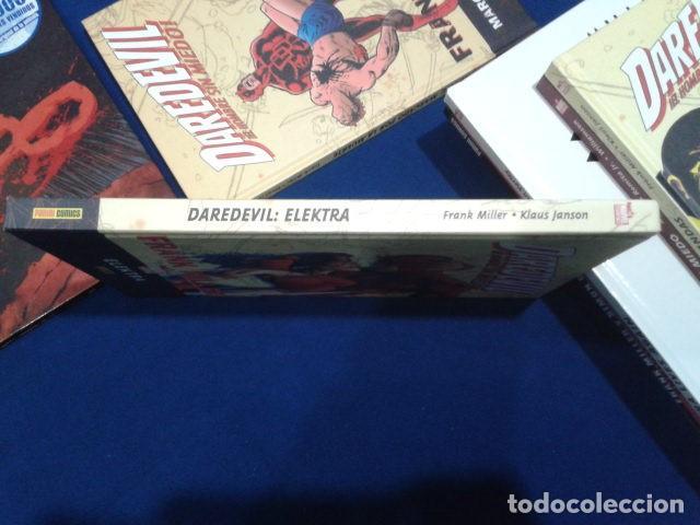 Cómics: COMICS PANINI MARVEL ESSENTIALS( DAREDEVIL: ELEKTRA ) FRANK MILLER 2008 TAPA DURA - Foto 3 - 112668215
