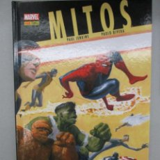 Cómics: MARVEL GRAPHIC NOVELS - MITOS - PAUL JENKINS - PAOLO RIVERA - NOVELAS GRAFICAS MARVEL - PANINI. Lote 112683895
