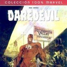 Cómics: COL. 100 % MARVEL - DAREDEVIL REDENCION - PANINI - IMPECABLE. Lote 112753195