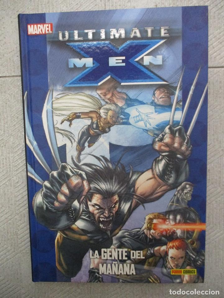 ULTIMATE X - MEN - LA GENTE DEL MAÑANA - PANINI MARVEL - TAPA DURA (Tebeos y Comics - Panini - Marvel Comic)