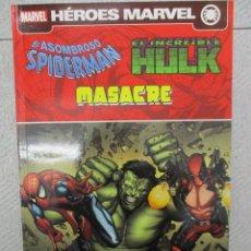 Cómics: HEROES MARVEL SPIDERMAN, HULK & MASACRE - GUERRA DE IDENTIDADES - ONE SHOT - PANINI. Lote 112909595