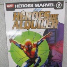 Cómics: HEROES MARVEL OBJETIVO SPIDERMAN HEROES DE ALQUILER PANINI. Lote 112909851