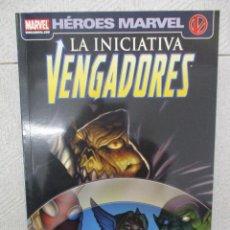 Cómics: HEROES MARVEL LA INICIATIVA VENGADORES PANINI. Lote 112910247