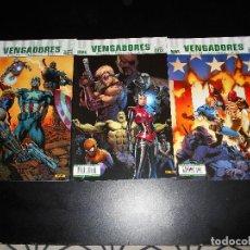 Cómics: COMICS - VENGADORES: ULTIMATE VENGADORES - NÚMEROS 1 AL 11. Lote 113036563