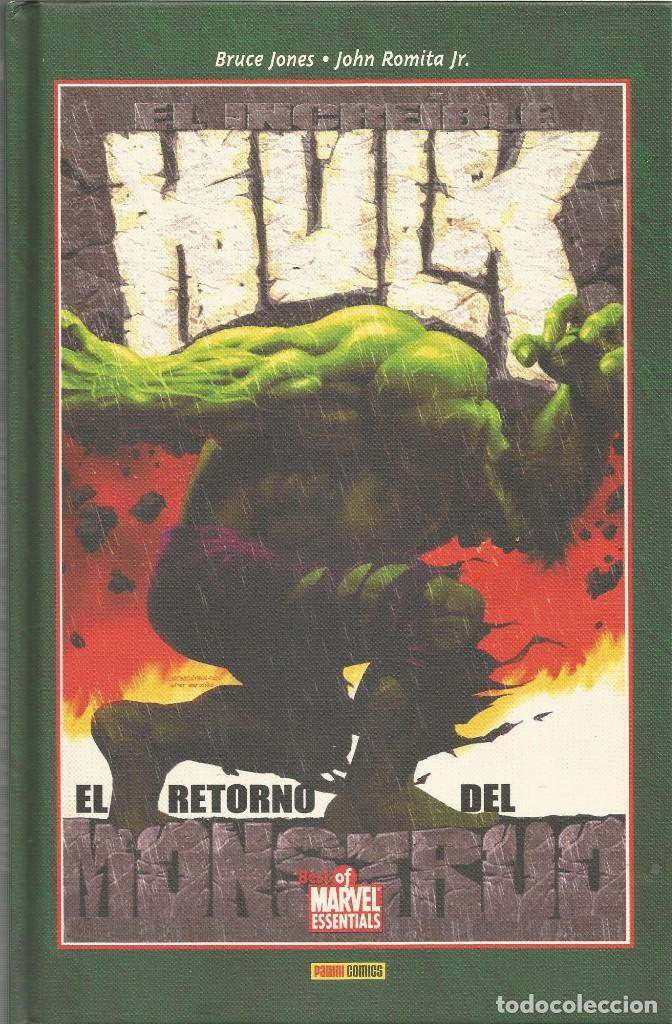 HULK. EL RETORNO DEL MONSTRUO S/N BEST OF MARVEL ESSENTIALS PANINI ESPAÑA (Tebeos y Comics - Panini - Marvel Comic)