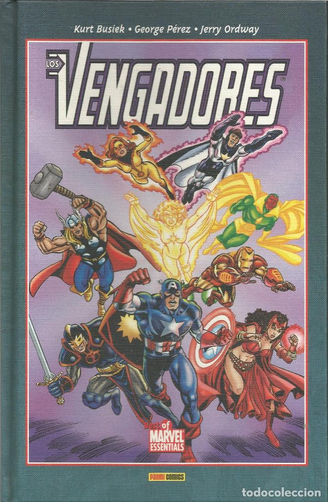 LOS VENGADORES Nº 3 BEST OF MARVEL ESSENTIALS PANINI ESPAÑA (Tebeos y Comics - Panini - Marvel Comic)