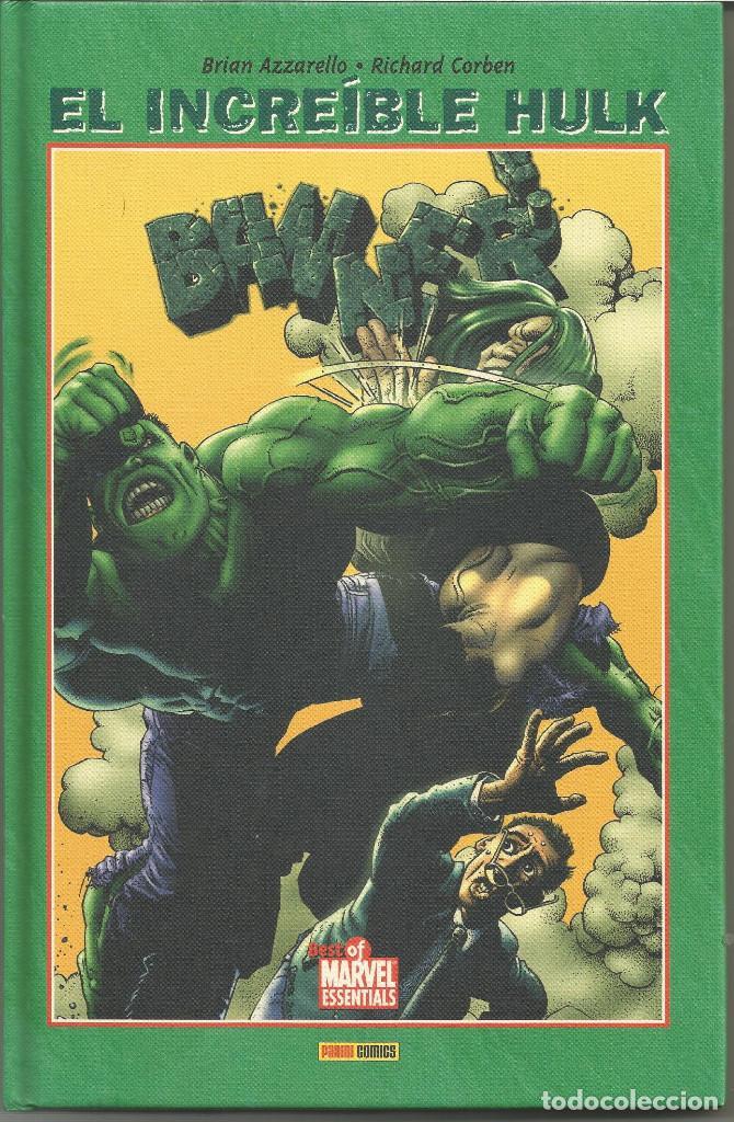 EL INCREÍBLE HULK. BANNER S/N BEST OF MARVEL ESSENTIALS PANINI ESPAÑA (Tebeos y Comics - Panini - Marvel Comic)