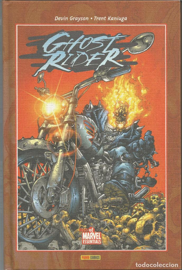 GHOST RIDER S/N BEST OF MARVEL ESSENTIALS PANINI ESPAÑA (Tebeos y Comics - Panini - Marvel Comic)