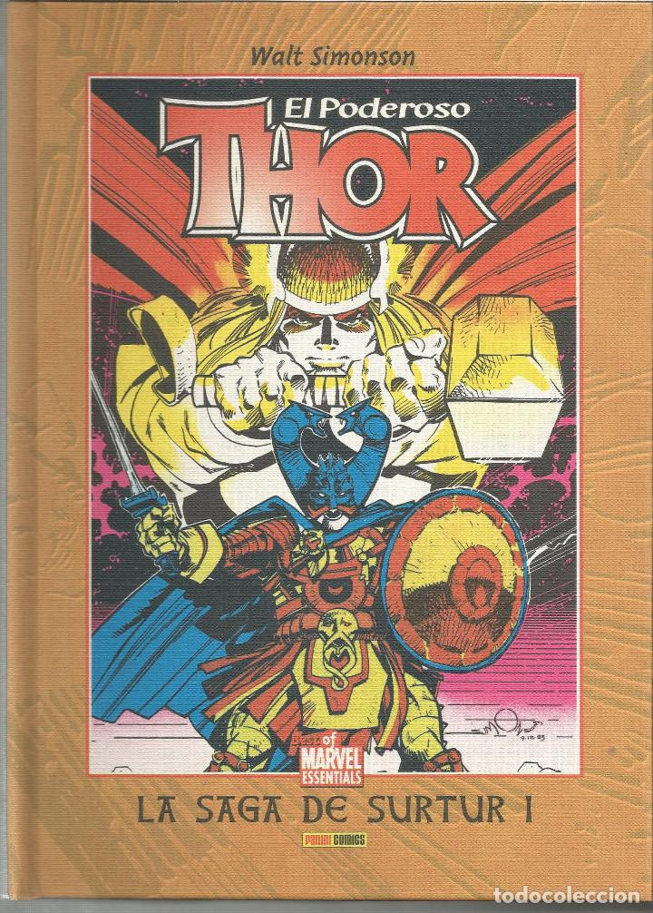 THOR, EL PODEROSO LA SAGA DE SURTUR I Nº 2 DE THOR BEST OF MARVEL ESSENTIALS PANINI ESPAÑA (Tebeos y Comics - Panini - Marvel Comic)