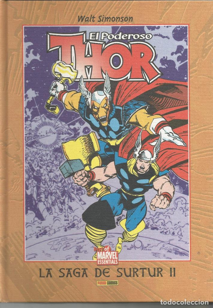 THOR, EL PODEROSO LA SAGA DE SURTUR II Nº 3 BEST OF MARVEL ESSENTIALS PANINI ESPAÑA (Tebeos y Comics - Panini - Marvel Comic)